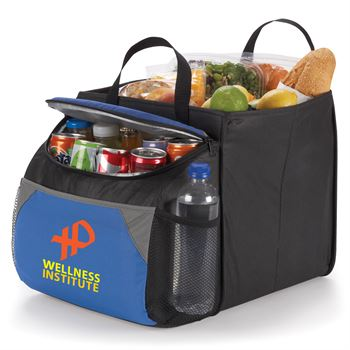 Berkeley Cooler With Collapsible Storage Cube - Full Color Personalization Available