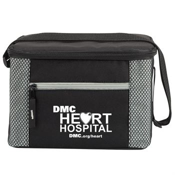 Atlantic Lunch/Cooler Bag in Gray/Black - Personalization Available