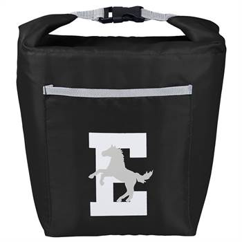 Black Bellmore Cooler Lunch Bag  - Personalization Available