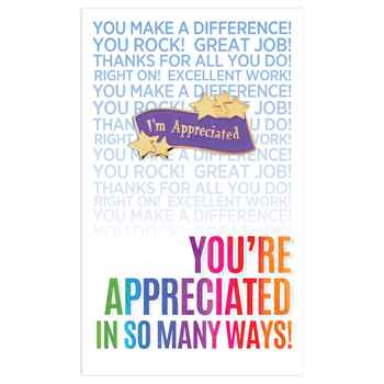 I'm Appreciated Lapel Pin With Presentation Card