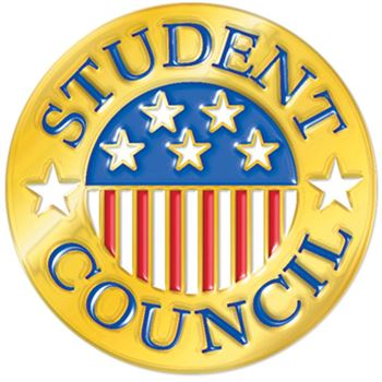Student Council Round Lapel Pin