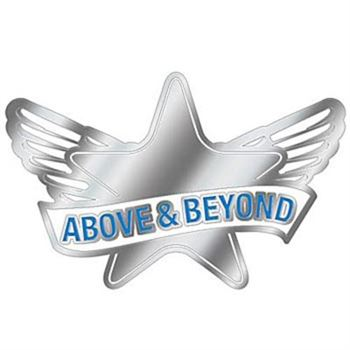 Above & Beyond Lapel Pin With Presentation Card