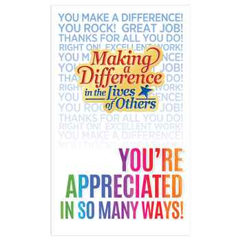Making A Difference In The Lives Of Others Lapel Pin With Presentation Card