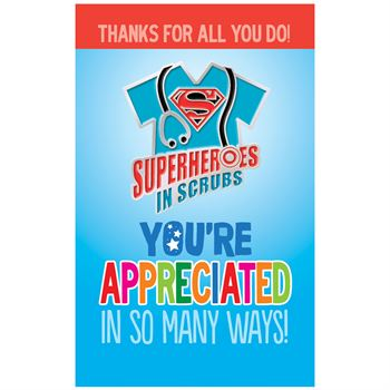 Superheroes In Scrubs Lapel Pin