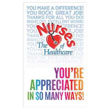 Nurses The (Heart) Of Healthcare Lapel Pin