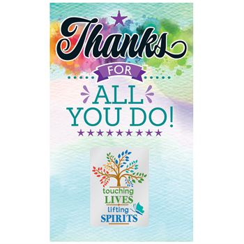 Touching Lives, Lifting Spirits Lapel Pin With Presentation Card