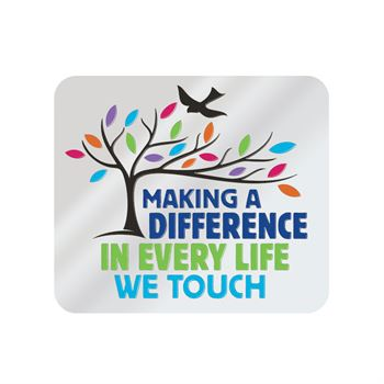 Making A Difference In Every Life We Touch Lapel Pin With Presentation Card