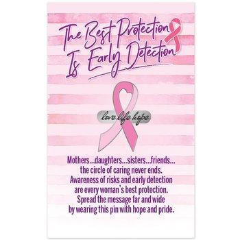 Love Life Hope Lapel Pin & Presentation Card