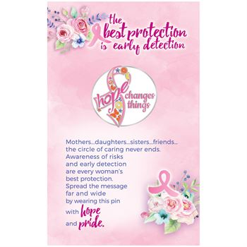 Hope Changes Things - Lapel Pin & Presentation Card