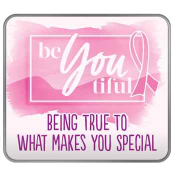 Be-You-Tiful: Being True To What Makes You Special Lapel Pin with Presentation Card