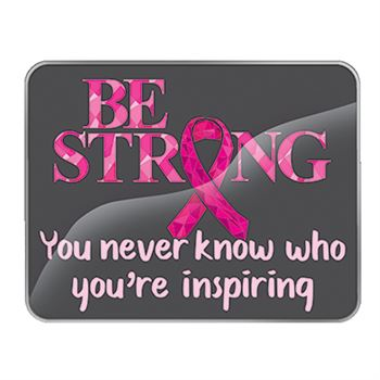 Be Strong...You Never Know Who You're Inspiring Lapel Pin With Presentation Card