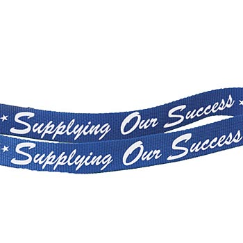Lanyard (Blue) Supplying Our Success