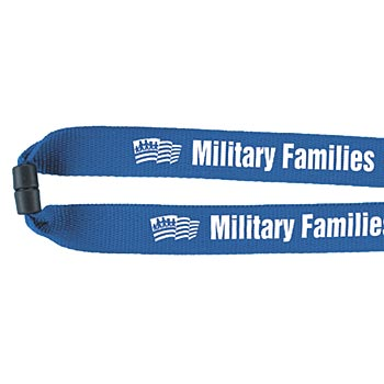 Military Families America's Homefront Heroes Lanyard