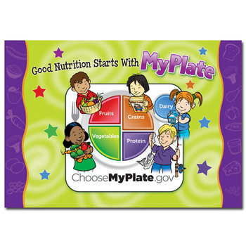 MyPlate Kid's Laminated Placemat