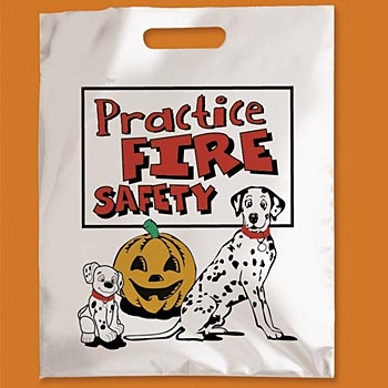 Practice Fire Safety Trick-Or-Treat Bag (Non-Personalized)