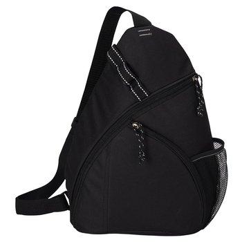 Black Value Streamlined Sling Backpack