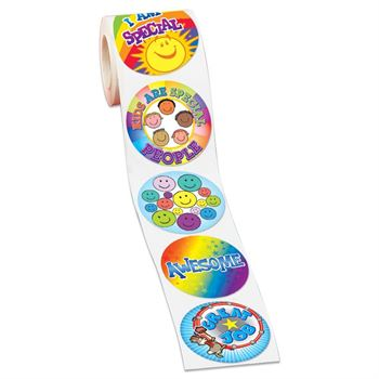 Just For Kids 5-On-A-Roll Stickers