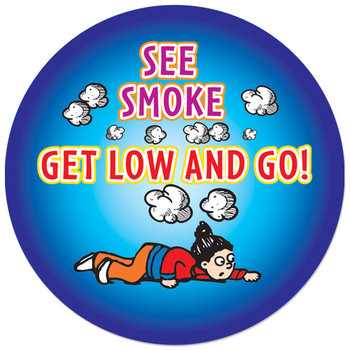 Fire Safety 5-On-A-Roll Stickers