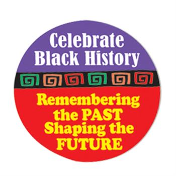 Celebrate Black History Month 5-On-A-Roll Stickers