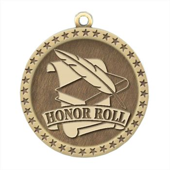 Honor Roll Gold Academic Medallion