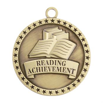 Reading Achievement Gold Academic Medallion