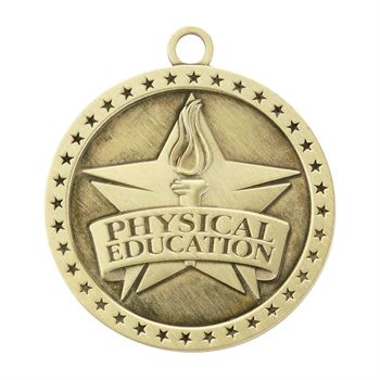Physical Education Gold Academic Medallion