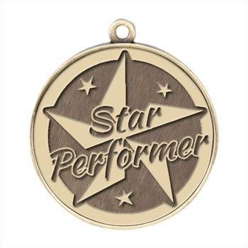 Star Performer Gold Academic Medallion