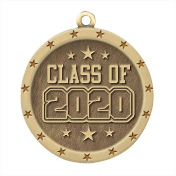 Class Of 2020 Gold Academic Medallion