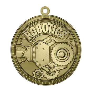 Robotics Gold Academic Medallion