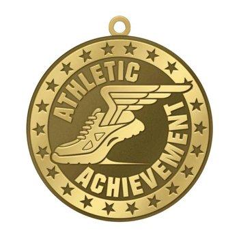 Athletic Achievement Gold Academic Medallion