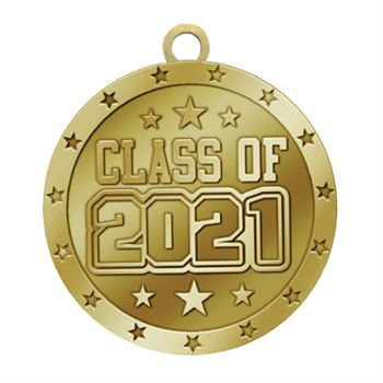 Class Of 2021 Gold Academic Medallion
