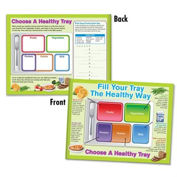 Choose A Healthy Tray 56-Page Activity Tablet
