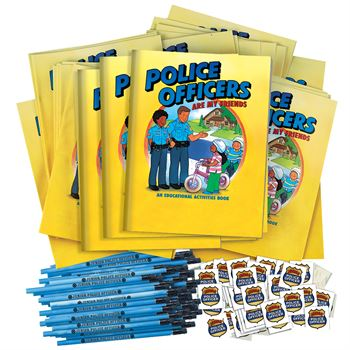 Police Officers Are My Friends 400-Piece Open House Kit
