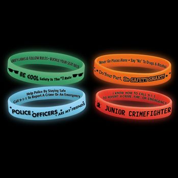 Glow Silicone Bracelet Assortment Pack