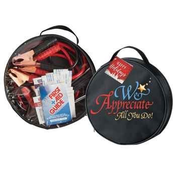 We Appreciate All You Do! Auto Emergency Kit With Holiday Gift Card
