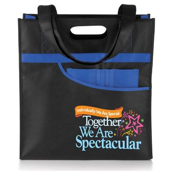 Individually We Are Special Together We Are Spectacular Setauket Tote & Tritan® Bottle Combo