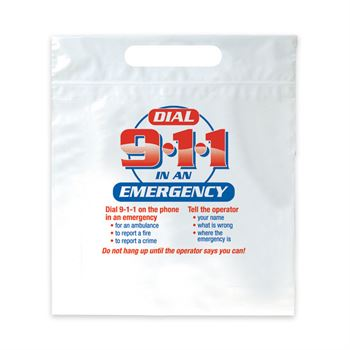 Telephone For Help Call 9-1-1 400-Piece Open House Kit