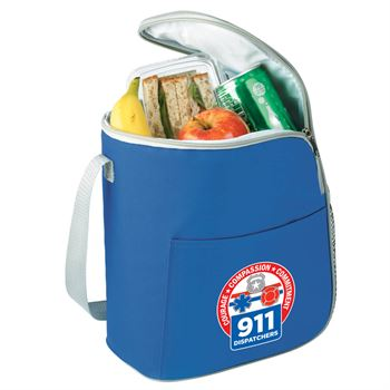 911 Dispatchers Eastport Lunch/Cooler Bag & Color Grip Tumbler Gift Set