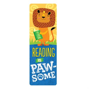 Reading Animal Bookmarks 100-Piece Assortment Pack