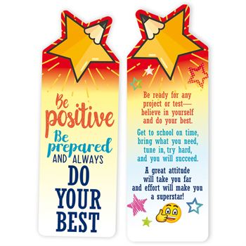Be Positive Be Prepared And Always Do Your Best 300-Piece Value Pack