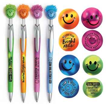 Happy Face Mood Stress Reliever & Fun Guy Pen Gift Set