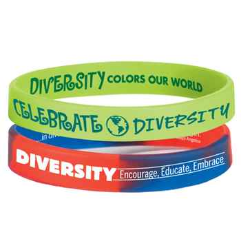 Diversity Silicone Bracelet 30-Piece Assortment Pack