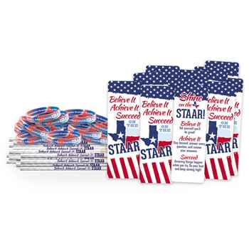 Believe It, Achieve It, Succeed On The STAAR 300-Piece Value Pack