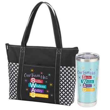 Our Team Has S.W.A.G Atlantic Tote Bag & Inlsulated Tumbler