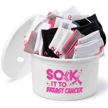Sock It To Breast Cancer 51-Piece Fundraising Kit
