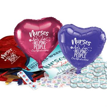 Nurses: Helping People One Life At A Time Celebration Pack