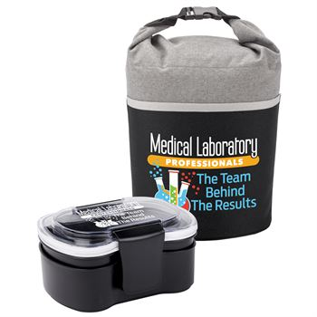 Medical Laboratory Professionals: The Team Behind The Results Food Container & Lunch Bag Gift Set