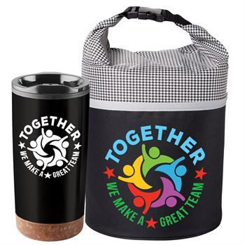 Together We Make A Great Team Bellmore Cooler Lunch Bag & Durango Tumbler Combo