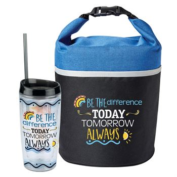 Be The Difference Today Tomorrow Always Lunch Bag & Tumbler Combo