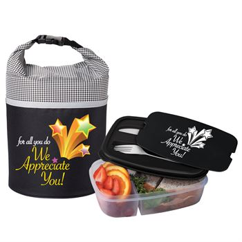 For All Do We Appreciate You Bellmore Cooler Lunch Bag & 2-Tier Container Combo